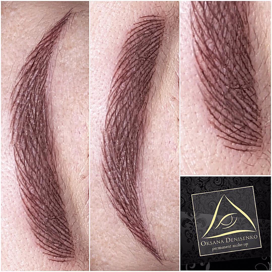 Микроблейдинг прорисовка волосков схема
